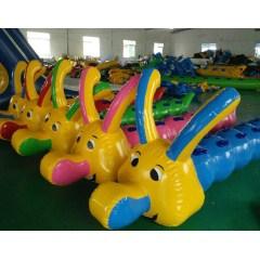趣味运动会活动器材户外拓展道具团队比赛道具充气龙舟毛毛虫竞速