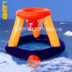 充气水上投篮玩易动体育大型戏水娱乐设施水上乐园设备